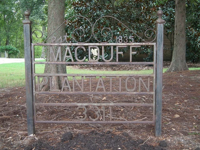1 Macduff Plantation since 1835