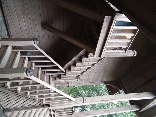 16 Macduff Lodge Loft Stairs rotated
