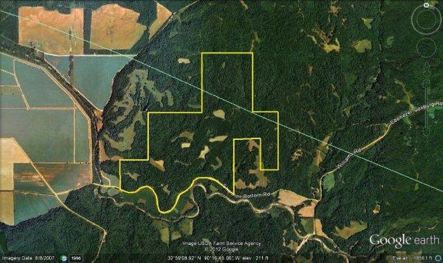 Aerial 718 acres