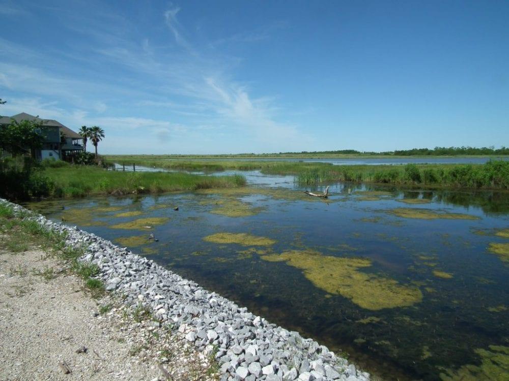 Rock Bulkhead and access to Little Irish Bayou min 1024x768 1